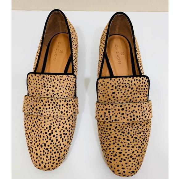 Caslon Shoes - 💫Caslon | Cheetah Printed Calf Hair Loafer